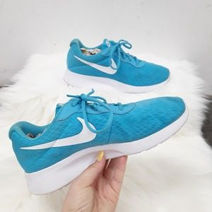 NIKE WMNS Tanjun Athletic Blue Running shoes 8.5